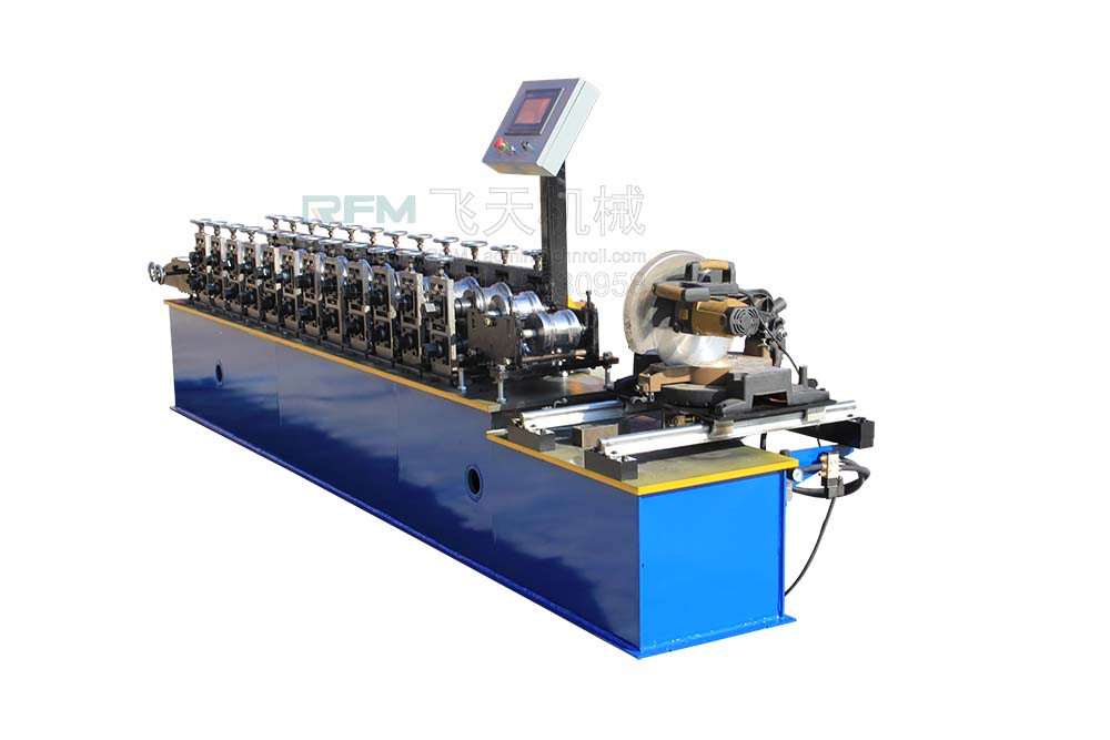 Metal Shutter Door Cold Roll Forming Machine