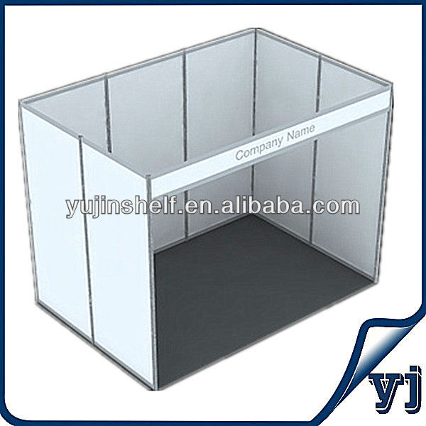 Exhibition Booth Price : Cheap price aluminum extrusion and mdf panel