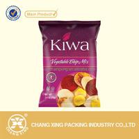 food grade Snack packing vegetable chips crisp bag