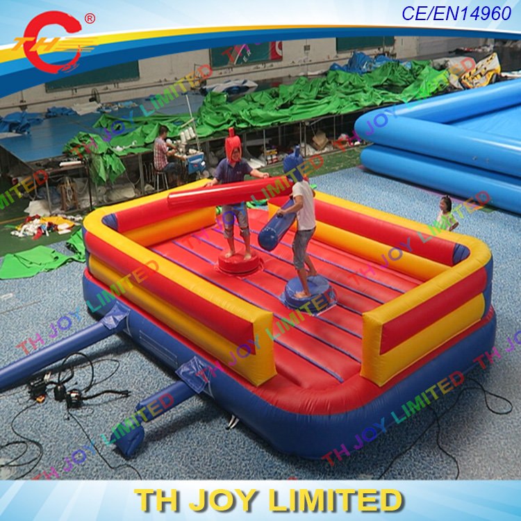 6m commercial grade <strong>inflatable</strong> jousting pugil sticks toys, <strong>inflatable</strong> jousting arena for sale