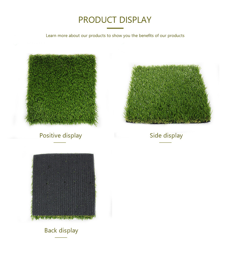 100% pe outdoor artificial carpet artificial grass lawn
