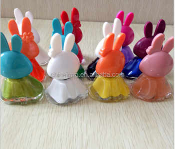 12ml Novelty Animal Bottle Cute Rabbit Shape Nail Use Polish Beauty