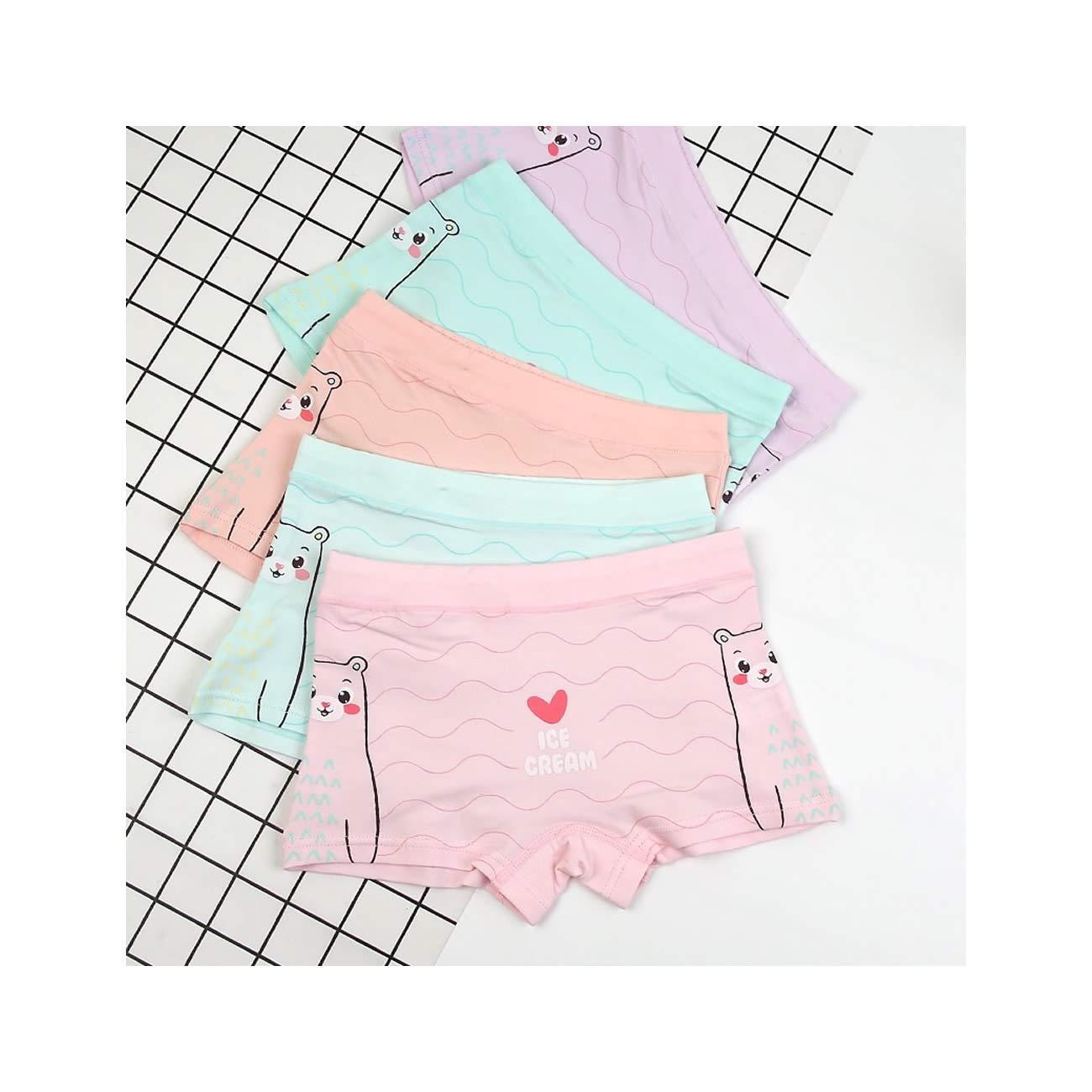 6fa59c771944 Get Quotations · Girls' Boyshort Toddler Briefs Premium Cotton Underwear  4pk Panties