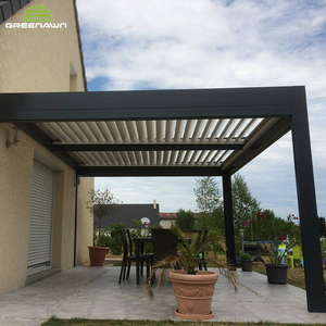 Modern Design Outdoor waterproof pergola aluminum gazebo