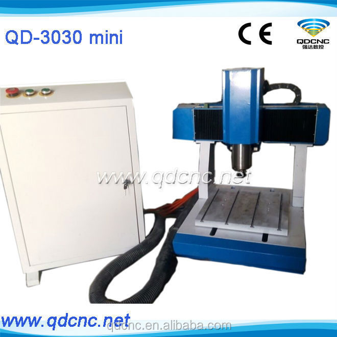 small 15.kw 3d cnc router / 3d woodworking cnc engraver for crafts looking for agent with CE QD-3030