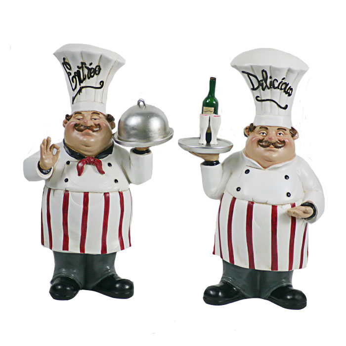 Kitchen Fat Resin Man Chef Figurines Decor Chefs Product On Alibaba