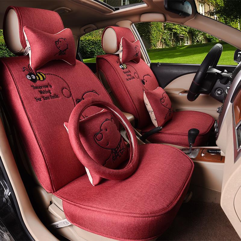 Super Cheap Comfortable Cute Cushion Anime Car Seat Cover