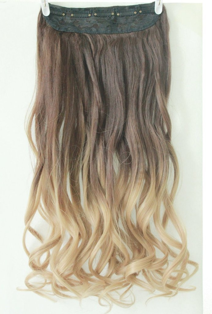 Buy 2013 New Fashion Ombre Hair Piece One Piece Clip In Hair