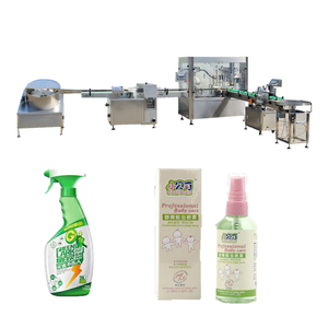 JB-PX2 Trade Assurance Supplier Trigger Spray Bottle Filling Capping Machine With CE