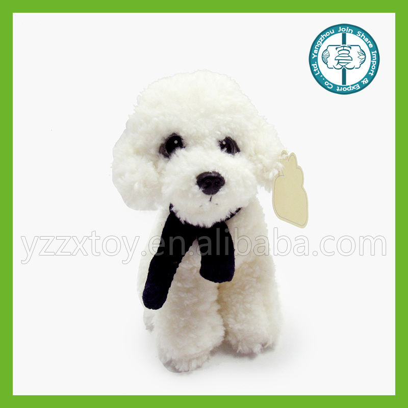 Popular plush toy white teddy dog stuffed <strong>animal</strong>
