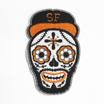 Sew On Style Custom Embroidery Design Polo Shirt Patch Badges Buy