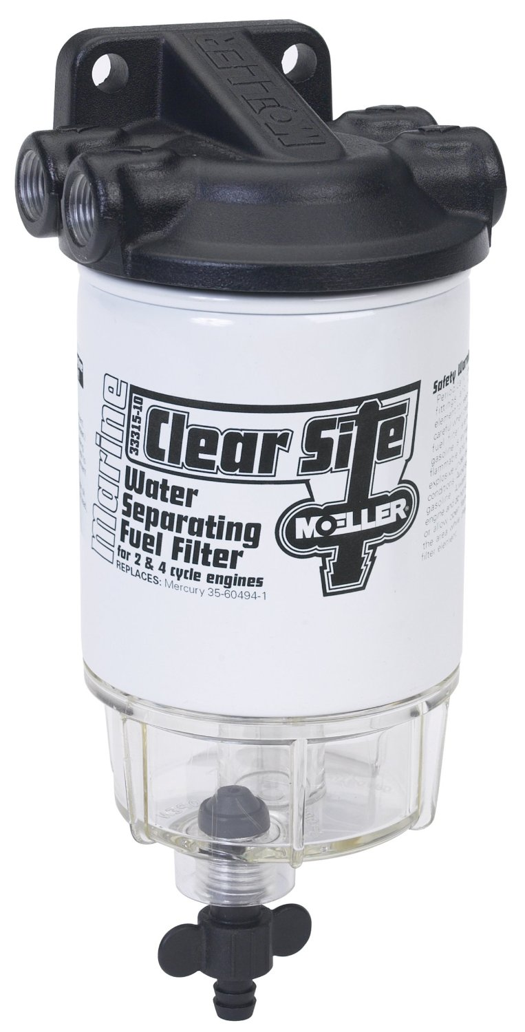 Cheap Fuel Filter Water Find Deals On Line At Duramax Heater Get Quotations Moeller Clear Site Separating System 3 8 Npt Aluminum