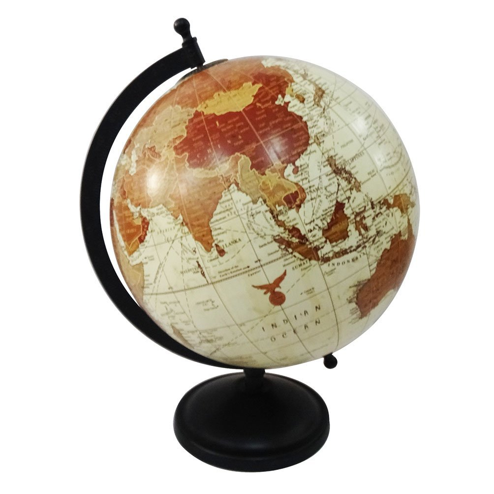 Cheap globe material find globe material deals on line at alibaba get quotations world map globe round shape 8 plastic ball 11 tall standing iron plastic material gumiabroncs Gallery
