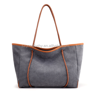 Carrying Handbag Travel Business Office Work School Tote Bag Cute Bags Canvas Korean Product On Alibaba