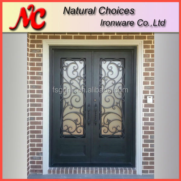 Wrought Iron Double Entry Doors Wrought Iron Double Entry Doors