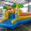 Hot Sale kids new commercial inflatable water bounce house with slide