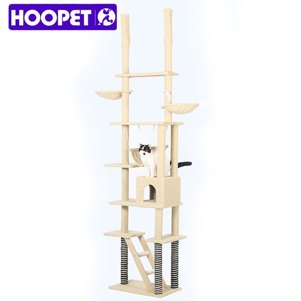 Cat Play Casa Multilayer Madeira Sisal Cat Tree Scratchers