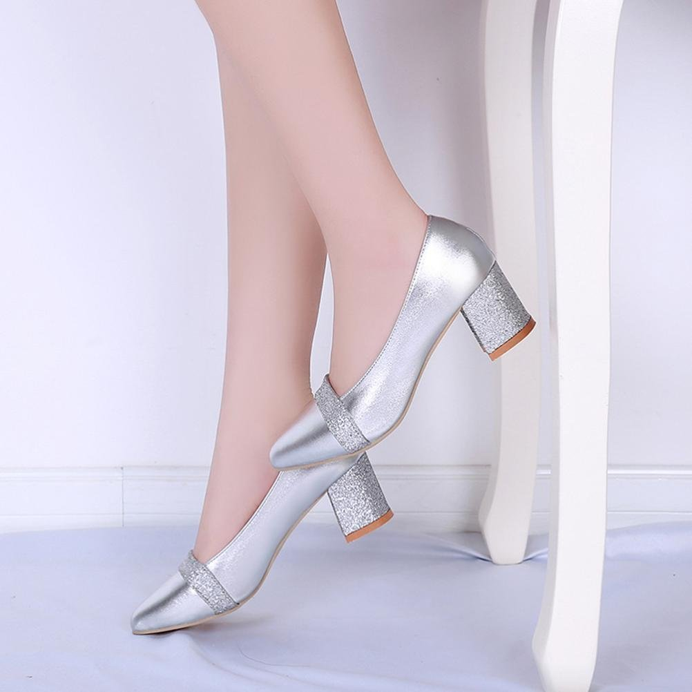 Get Quotations · Women Ladies Mid Heel Shoes Wedge Sandals Shoes Wedding  Shoes Office Shoes Hoof Heels Shoes Hemlock adc90a3a9e85