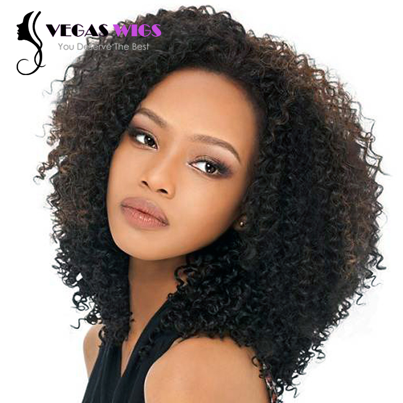 Vegaswigs Free Shipping Black Afro Kinky Curly Synthetic ...