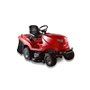 China gasoline powerful engine lawn mower tractor price