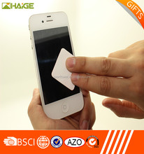 Custom cheap mobile phone screen cleaner / wiper for promotional gifts