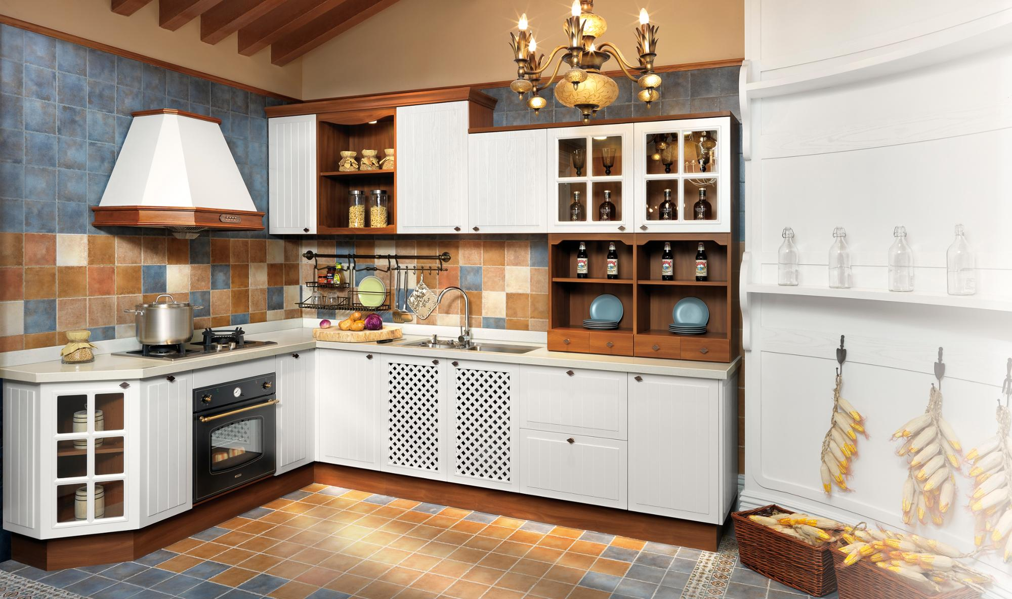Wood And White Kitchen Cabinet Manufacturers For Sale Near