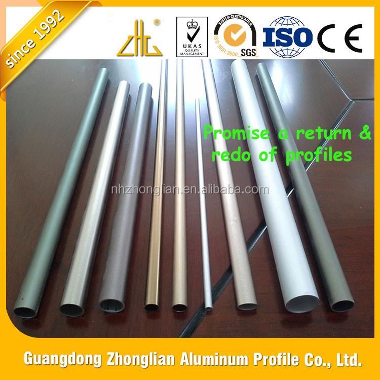 Factory Aluminium Retangular Section/ Thailand Market Aluminium Profile  Extrusion / Round Aluminium Pipe Aluminium Tube Thailand - Buy Aluminium  Tube