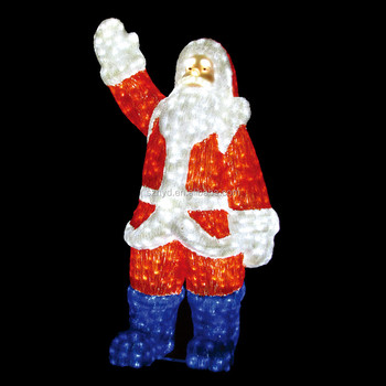 Lighted santa claus outdoor christmas decorations - Lighted Santa Claus Outdoor Christmas Decorations - Buy Christmas