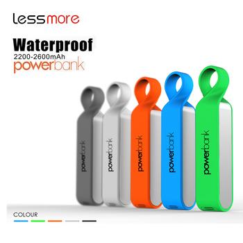 hot items 2017 new years products waterproof power bank 2000mah2200mah2600mah best selling
