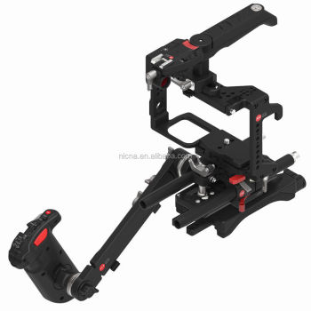 JTZ DP30 Camera Cage Baseplate Shoulder Handle Rig KIT For Panasonic GH3 GH4 GH5