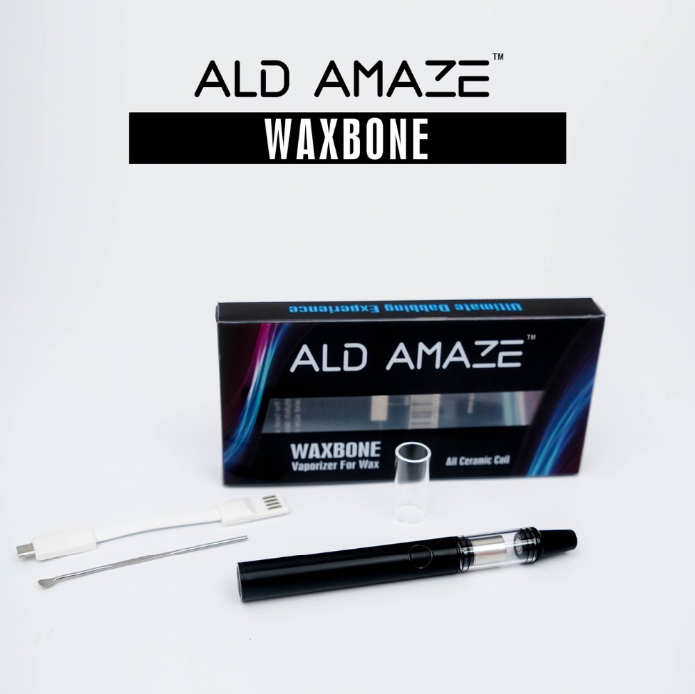 Original Ald Amaze wax vaporizer pen with pre heating performance USB charging 520 mah wax vaporizer pen wholesale