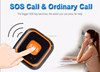 SOS alarm and calling anti lost 2 way audio communication gps tracking kids