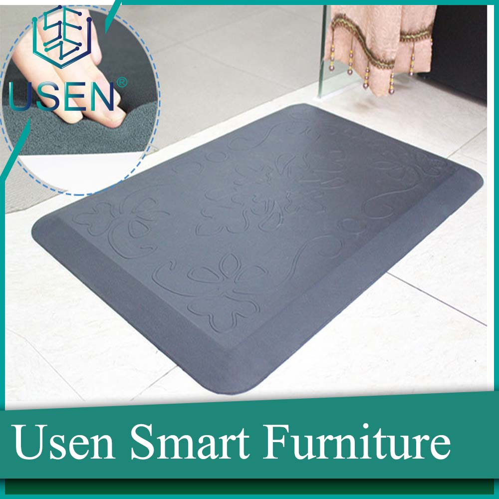 anti-fatigue standing rubber kitchen mat