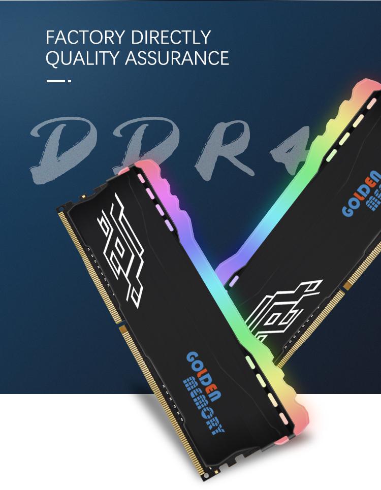 낮은 Moq 지원 페이팔 저렴한 데스크탑 메모리 Ddr4 8 Gb Ram 3000 Mhz