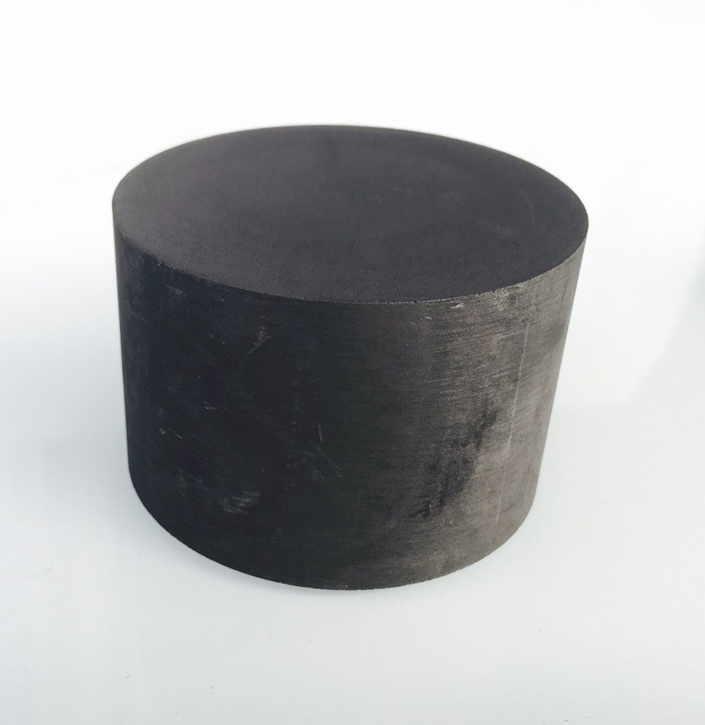 OTOOLWORLD 99.9% Purity Graphite Ingot Block EDM Graphite Plate Milling Surface (75MMx50MM)