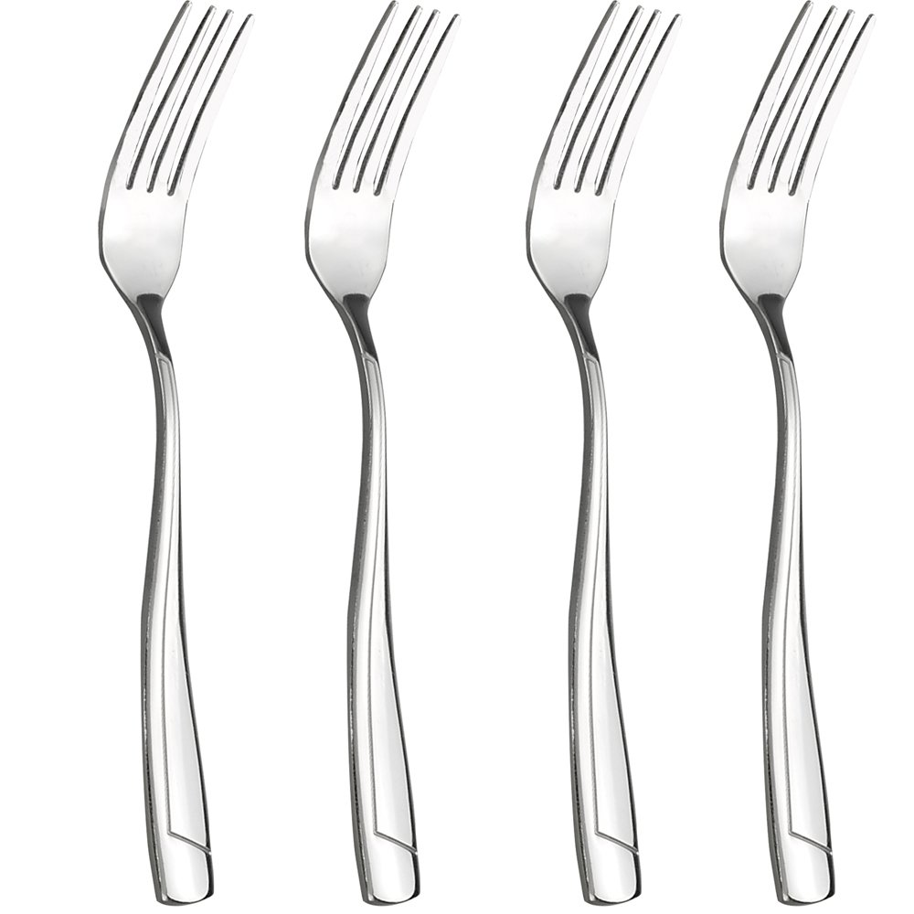 Cand 16-Piece Dinner Forks, 8 Inch, Stainless Steel