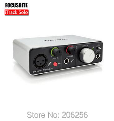 original focusrite itrack solo professional recording sound card usb audio interface usb. Black Bedroom Furniture Sets. Home Design Ideas