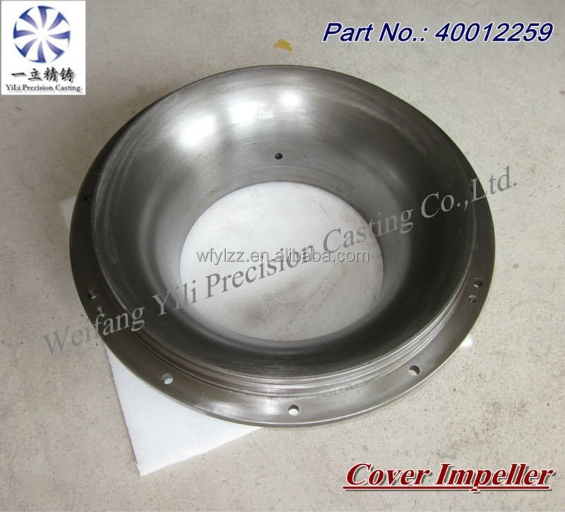 precision cover impeller OEM service for diesel outboard motors engine parts