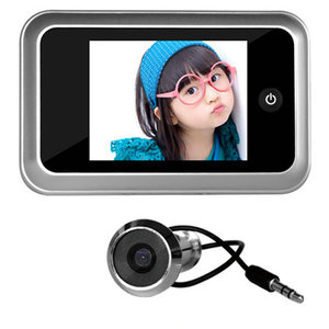 HD Image Door peephole door wifi camera