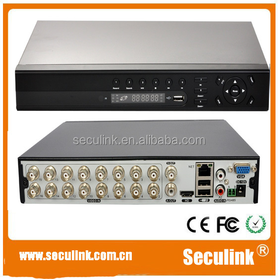 Seculink 16CH H.264 HDMI Standalone <strong>DVR</strong> with LED display (SA-2016EL)