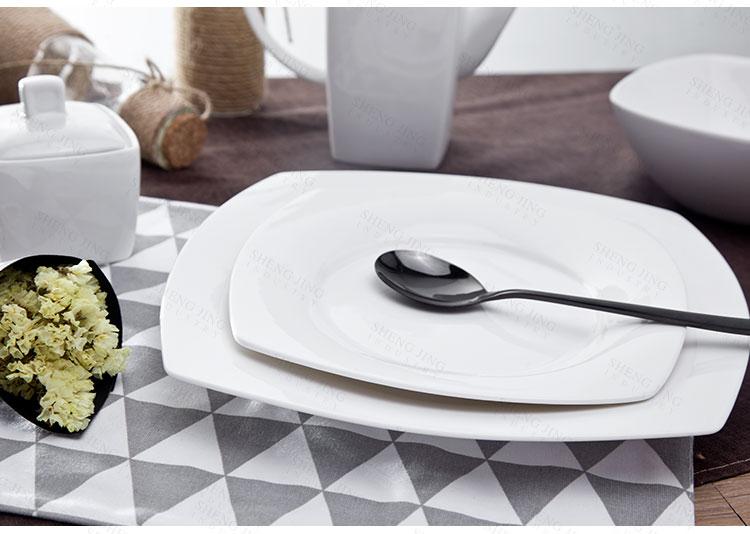 Custom gepersonaliseerde restaurant servies schotel pakistaanse