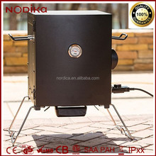 Outdoor Vertical Portable Electric Meat Smoker 1400W BBQ Grill