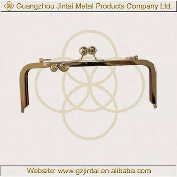 china product metal purse handbag frames 924cm metal frame for wallet woman purse metal - Metal Purse Frames