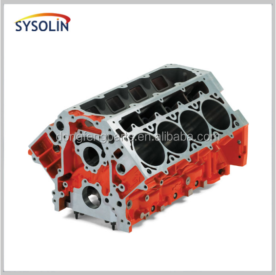 cast iron machined Truck <strong>Diesel</strong> engine IS4D cylinder block 4934322