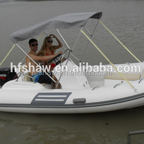 (High Quality)15.4ft Inflatable <strong>Boat</strong> With Outboard Motor ,Fishing RIB <strong>Boat</strong>,Electric Motor <strong>Boat</strong> For 6 People