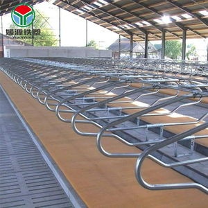 Factory supply livestock company company dairy cow stall equipment galvanized fence cattle gate