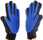 Factory outlet five finger design hair removere massage dog pet grooming glove