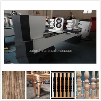 Cnc Woodworking Lathe 150s 200s 300s For Railing Staircase Baseball Bat