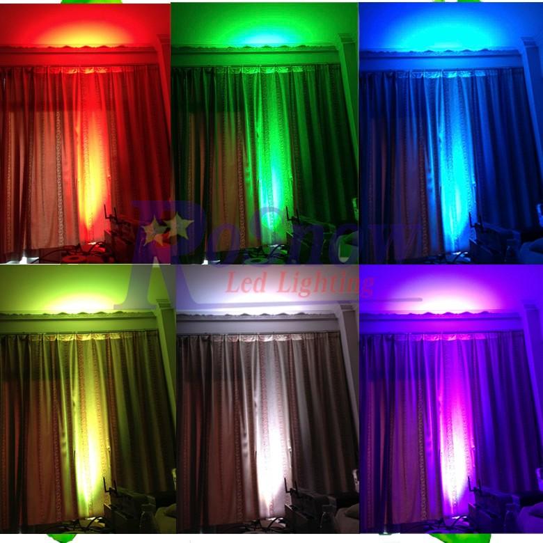 Dmx Wedding Effect Par64 Uplight 54*3w Led Stage Par Can Led Rgbw ...