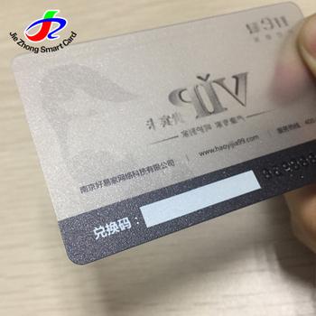 Cheap Clear Hard Pvcplastic Custom Transparent Business Card